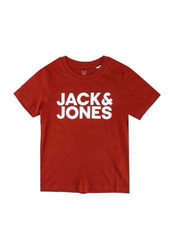 Jack & Jones red Corp Logo Short Sleeves Tee 2FBC6KA4C94B3BGS_1