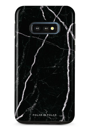 Polar Polar black Secret Dark Samsung Galaxy S10E Dual-Layer Protective Phone Case (Glossy) CACA0AC8B95B19GS_1