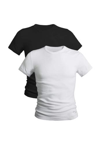 Pierre Cardin 多色 純棉圓領T恤2入 PT9115-2RN F9637AAAE795E3GS_1