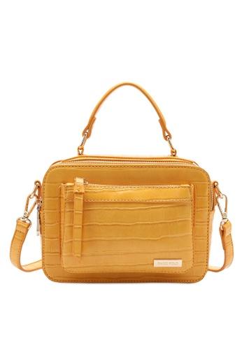 Swiss Polo yellow Swiss Polo Ladies Top Handle Sling Bag 69A71AC60C3F82GS_1