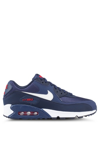 Nike blue Men's Nike Air Max '90 Essential Shoes 2CF14SH7D6BDB7GS_1