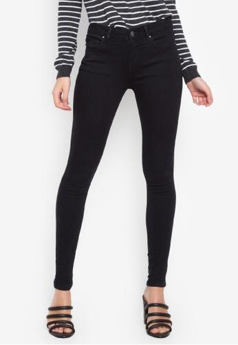 9e6afd205368 Shop Dorothy Perkins Black Bailey Jeans (Short Fit) Online on ZALORA ...