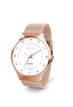 83c51a73a5f 50% OFF Her Jewellery Her Jewellery Classic Mesh Watch (Rose Gold)  embellished with Crystals from Swarovski RM 264.90 NOW RM 132.20 Sizes One  Size