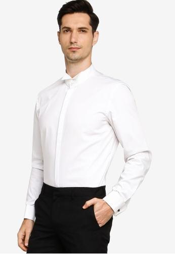 BOSS white Jillik Slim Fit White Shirt 9243EAAEDC633BGS_1