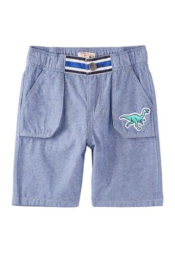Du Pareil Au Même (DPAM) blue Sky Blue Bermuda Shorts BE73BKAB41B842GS_1