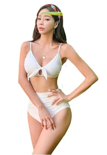 Halo white Sexy Swimsuit Bikini C5C16US37715B9GS_1