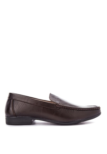 Itti brown Formal Shoes IT425SH0K44MPH_1