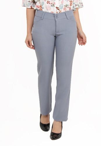 Brielle Jeans grey Celana Kantor 104 54EB9AADFBC4BAGS_1