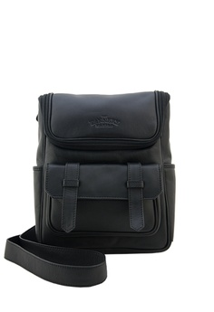 The Tannery Manila black Andrew, Genuine Leather Nappa Messenger Bag  TH690AC28RSPPH_1