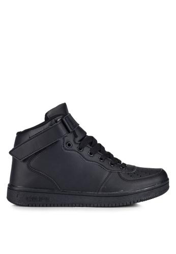 Rocklander black Casual High Top Sneakers RO978SH0RGYNMY_1