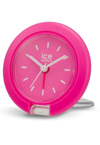 Ice-Watch pink ICE Travel Clock - Neon Pink IC770AC2VZX9HK_1