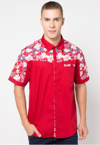 Contempo red Shirt S/S CO339AA75GIAID_1
