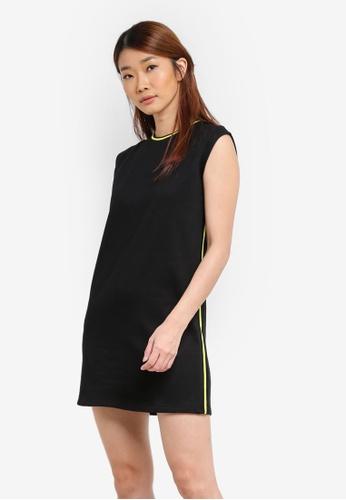 Something Borrowed black Striped Rib Tank Dress 2C1D7AA9723417GS_1