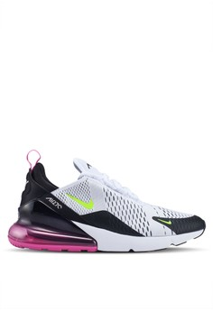 82e27d0d11 Nike white and multi Nike Air Max 270 Shoes ACC52SH1329F14GS_1