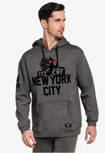 Superdry black Mono Urban Hoodie CE275AA3ABB575GS_1