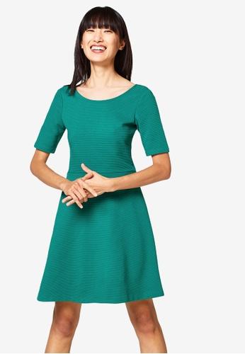 ESPRIT green Knitted Mini Dress AC869AA5AABC72GS_1