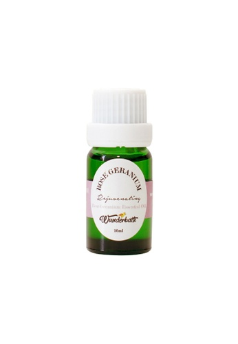 Wunderbath Rose Geranium Essential Oil WU584BE87JMUMY_1