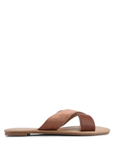 ce2969851731 Rubi brown Everyday Scarlett Xover Slides B08BFSH60E9D8DGS 1 Rubi Everyday  Scarlett Xover Slides RM 59.00. Available in several sizes