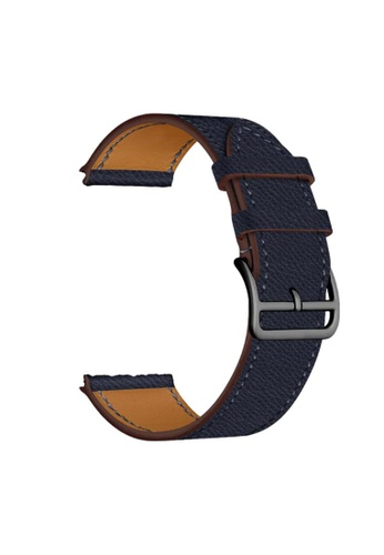 Kings Collection Deep Blue Leather Apple Watch Band 38MM / 40MM (KCWATCH1078) 3BE8DACBB82CA7GS_1