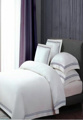 MOCOF grey and white Triline Grey Duvet Cover Set (7in1) 100% Luxury Tencel 1600TC 52D03HLB931B67GS_1
