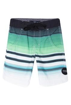 Short Pants Stripes Hybrid