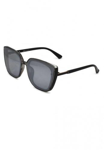 jojo grey Screwed Details Chic Cateye Polarized Sunglasses 41CACGL3E40FF8GS_1
