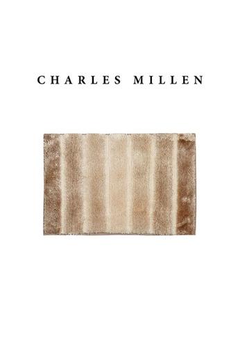 Charles Millen SET OF 2 Charles Millen Cosmos TR1423Y  Microfibre Anti slip  Bath Mat /   40x60cm / 432g 1B5B4HL2FEC96CGS_1