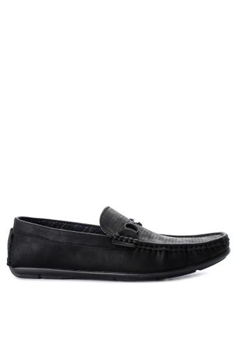 Wade black Driving Shoes 16E75SH081A2F8GS_1
