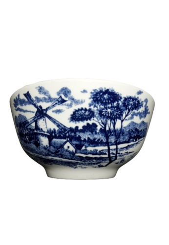 "Claytan Victoria Blue - 4.7"" Rice Bowl 5DF2FHL01A310EGS_1"