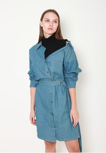 Leline Style blue Sage One Piece Denim Dress 3FE1DAAD348E6EGS_1