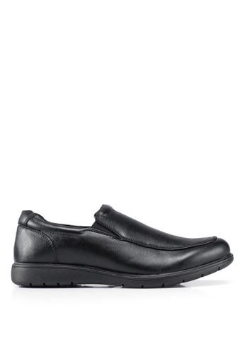 Bata black Slip On Dress Shoes C38EFSH2DB259BGS_1