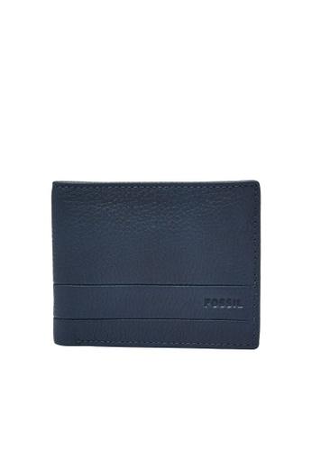 Fossil blue Lufkin Wallet SML1390405 1B5DAAC8935B1DGS_1