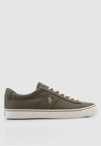 Polo Ralph Lauren green Sayer Sneakers A1230SHAB7D730GS_1