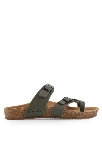 CARVIL green Man Sandal Footbed Falkland-05 CA566SH27PIIID_1