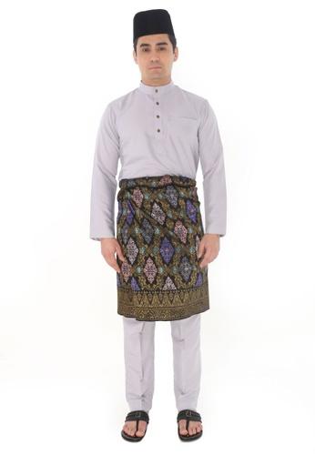 Amar Amran silver Baju Melayu Raja Sehari ADAFFAA5A502F9GS_1