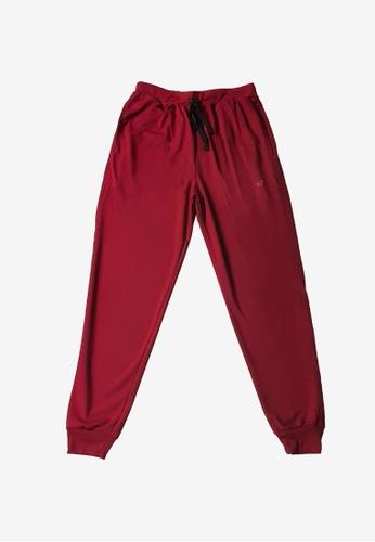 Allstar red Cotton Terry Jogger Pants D5328AA850E928GS_1