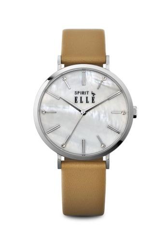 ELLE beige Fashion Ladies Watch EL900AC0RJXSMY_1