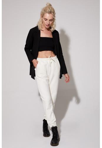 DeFacto beige Woman Knitted Trouser 1D59FAA3C3D825GS_1