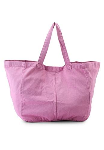 Rubi pink Denim Dreaming Tote Bag BE8E7AC0BBEE02GS_1