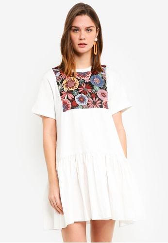 Haute Kelly white Min Jee Dress 474A8AA24959A7GS_1