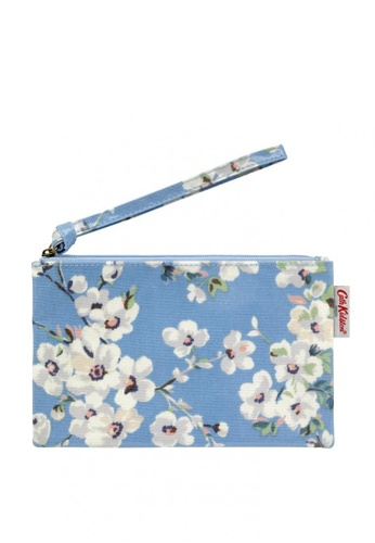 Cath Kidston blue Wellesley Blossom Zip Purse With Wrist Strap CE5A6ACA38D685GS_1