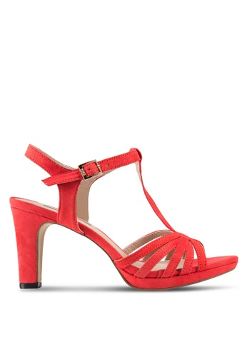 Nose red Strappy Heels NO327SH51EDWMY_1