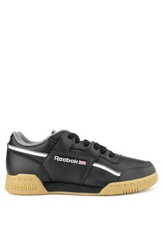 df35fa29c070 Reebok black and multi Workout Plus Mu-Pp 668CDSH770E7D7GS 1