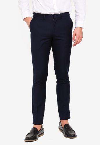 Electro Denim Lab 藍色 Formal Long Pants 22C0BAAA3C8D39GS_1