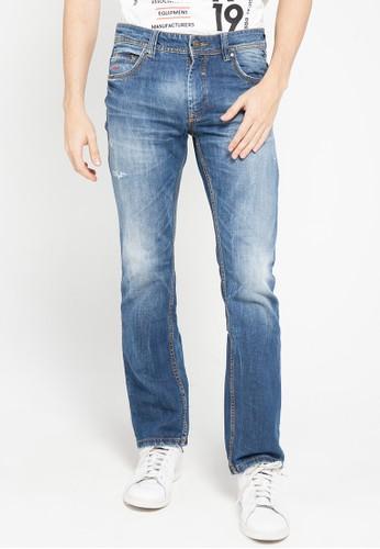 Cardinal blue Straight Slim Jeans DE904AAA581C26GS_1