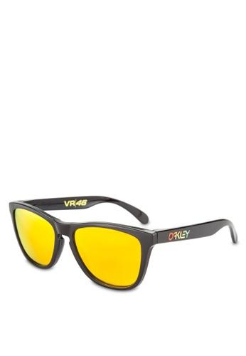 Oakley black Performance Lifestyle OO9013 Sunglasses OA636GL27GQEMY_1