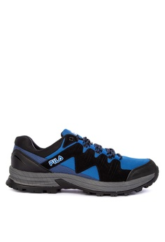 super popular f4a3b 115f5 Fila black and multi Expedition Outdoor and Trail Sneakers  1A3ABSHD955299GS 1