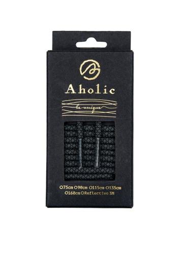 Aholic 黑色 NORMAL 蛇紋鞋帶 - 黑蛇紋 AH662SH09XF4TW_1