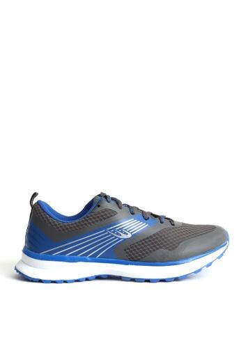 World Balance grey Excelerate Mens Running Shoes CEBC9SH91F78A0GS_1
