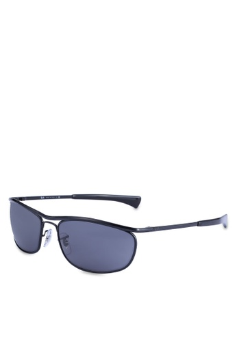 Ray-Ban blue Ray-Ban Olympian Deluxe RB3119M Sunglasses F97D5GLE39A1CFGS_1